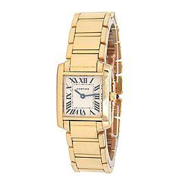 Cartier Tank Francaise W50002N2 20mm Womens Watch
