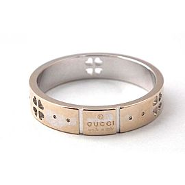 Gucci Sterling Silver Icon Amor Forever Ring