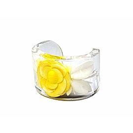 Chanel Bumble Clear Flower Bracelet