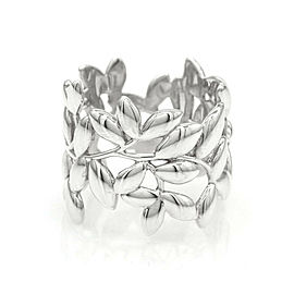 Tiffany & Co. Paloma Picasso Olive Leaf Band Ring in Silver