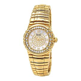 Piaget Tanagra 18k Yellow Gold Quartz Ladies Watch 16033 M 401 D