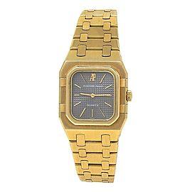 Audemars Piguet Royal Oak Rectangular Vintage 18kYellow Gold Quartz Ladies Watch