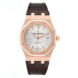Audemars Piguet Royal Oak 37mm Midsize Rose Gold Mens Watch 15450OR