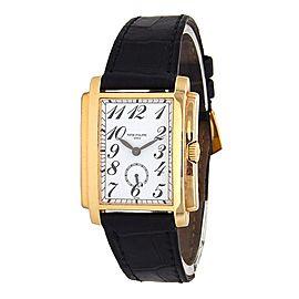 Patek Philippe Gondolo 18k Yellow Gold Manual Mid-Size Watch 5024J