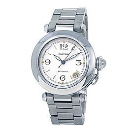 Cartier Pasha Stainless Steel Automatic Mid-Size Watch W31015M7