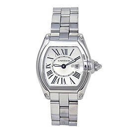 Cartier Roadster Stainless Steel Swiss Quartz Ladies Watch W62016V3