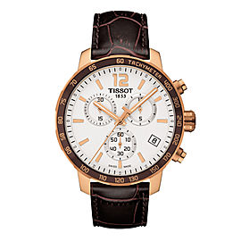 Tissot Quickster Chronograph Brown Mens T095.417.36.037.01