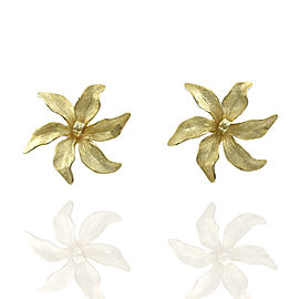 Tiffany Flower Earrings in Gold