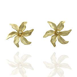 Tiffany Flower Earrings in Gold