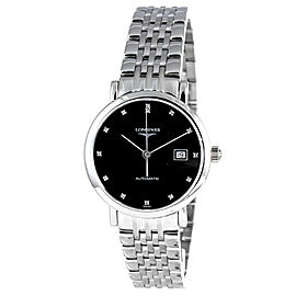 Longines Elegant Black Dial Automatic L43104576