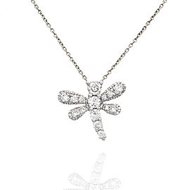 Roberto Coin Diamond Dragonfly Necklace in Gold