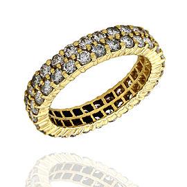 Diamond Eternity Ring in Gold