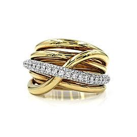 Roberto Coin Diamond Ring in Gold