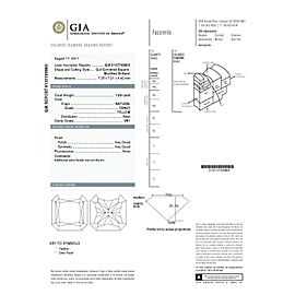 GIA Certified 1.89ct Fancy Yellow Diamond Engagement Ring in 18KY & Platinum