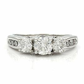 Three Stone Diamond Ring in Gold