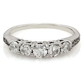 0.70ctw Diamond Band/ Ring in 14K White Gold