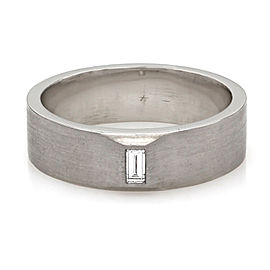 Gentlemans Dia Solitaire Band Ring
