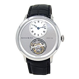Arnold & Son UTTE Tourbillon Instrument Palladium Manual 1UTAG.S04A.C121G