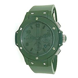 Hublot Big Bang Green Ceramic 301.GI.5290.RG Automatic Rubber Watch