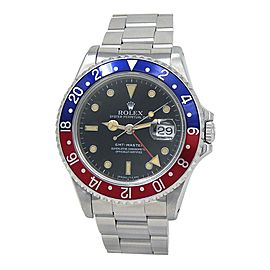 Rolex GMT-Master (N Serial) Stainless Steel Automatic Men's Watch 16700