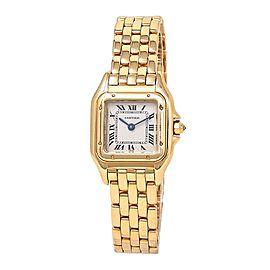 Cartier Panthere 18k Yellow Gold Swiss Quartz Ladies Watch WGPN0008