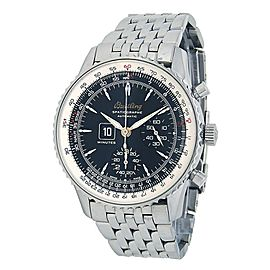 Breitling Montbrillant Spatiographe Stainless Steel Automatic Mens Watch A360301