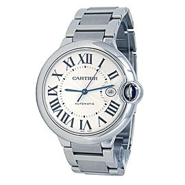 Cartier Ballon Bleu Stainless Steel Automatic Men's Watch W69012Z4