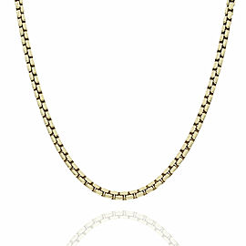 DavidYurman Box Chain Necklace in Gold