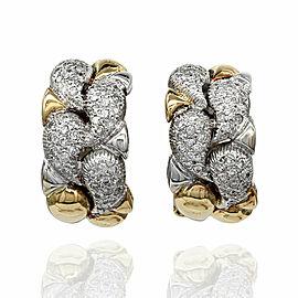 Diamond Earrings in Gold