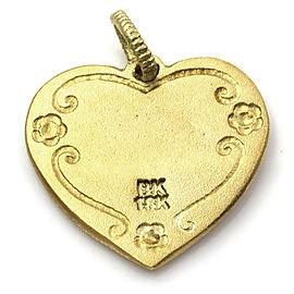 Barry Kronen Babylicious Boy Heart Charm in Gold