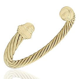 Yurman Cable Cuff Bracelet in Gold