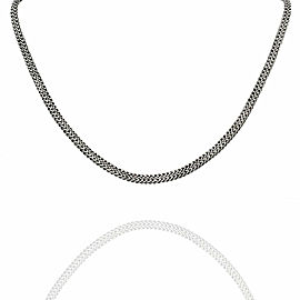 Hardy Classic Woven Chain in Silver