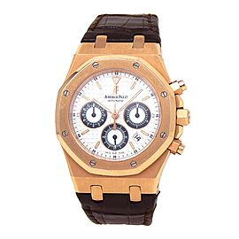 Audemars Piguet Royal Oak 18K Rose Gold Automatic Watch 26022OR.OO.D098CR.01