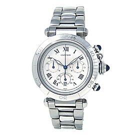 Cartier Pasha Stainless Steel Quartz Men's Watch 1050