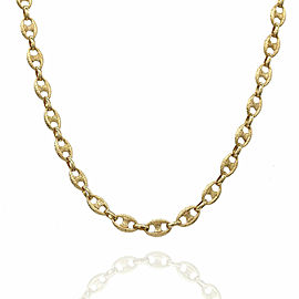 Gucci Style Necklace in Gold
