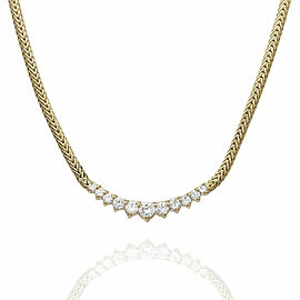 Diamond Necklace in Gold