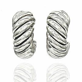 Yurman Cable Earrings in Silver
