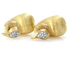 Nanis Cachemire Collection Diamond Earrings in 18K Yellow Gold