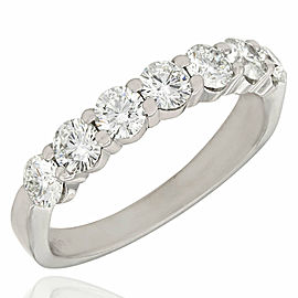 Seven Ston Diamond Ring in Gold