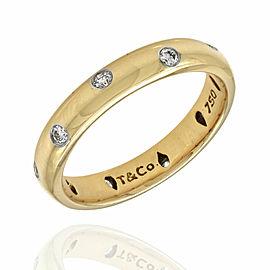 Tiffany Etoile Diamond Band in Gold