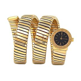 Bvlgari Turbogas Serpenti 18K Bi-Color Yellow Gold Quartz Ladies Watch BB191T