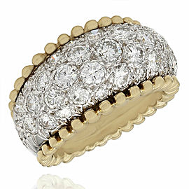 Diamond Dome Ring in Gold