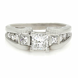 Princess Diamond Engagement Ring in Gold