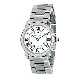 Cartier Ronde Solo Stainless Steel Swiss Quartz Ladies Watch W6701004