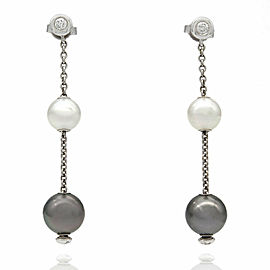 Mikimoto Earrings on Gold