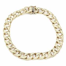 Gentlemans 14KY Curb Link Bracelet
