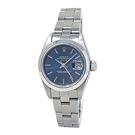 Rolex Date (F Serial) Stainless Steel Automatic Ladies Watch 79160