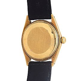 Rolex Date (1 Serial) 18k Yellow Gold Automatic Men's Watch 1500