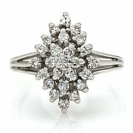 14KW Diamond Shape Diamond Ring