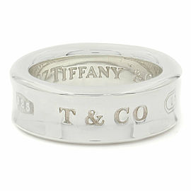 Tiffany & Co. 1837 SS Concave Band Ring